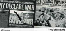 二战快报新闻动画AE模板