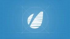 手势logo动画