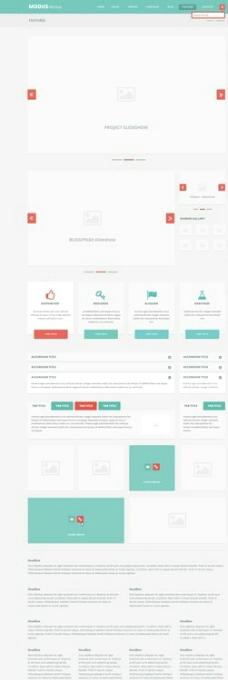 web網頁設計圖片