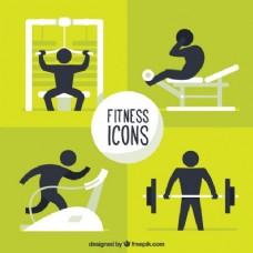 健身图标包