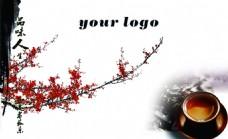 水墨中国风展板背景素材