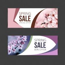 创意春季促销海报设计
