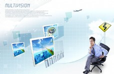 商务科技海报