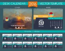 办公桌日历设计图片