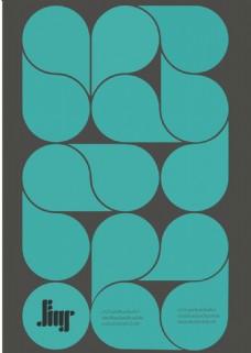 水滴 创意 海报 设计 蓝色 素材 矢量