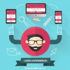 现代风格的用户体验