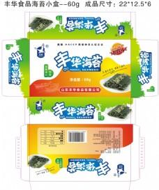 丰华食品海苔小盒60g--日照特产