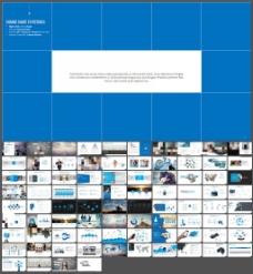 简约商务欧美风模板设计模板