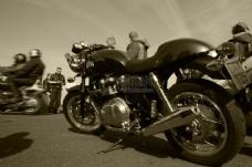 经典的摩托车