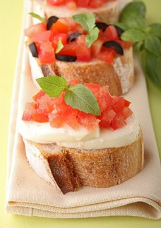 西红柿面包