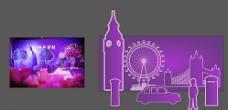 紫色婚礼 英伦风图片