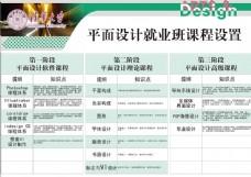 清华大学平面设计课程表CDR素材