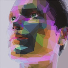 人脸设计图