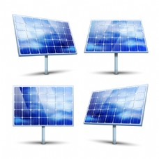 精美太阳能节能环保设计矢量素材