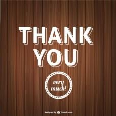 谢谢你的字体与木结构