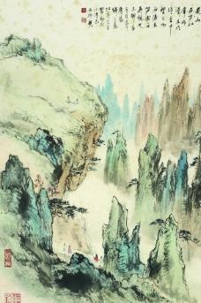 黄山奇峰图片