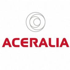 ACERALIA公司红灰字母LOGO设计