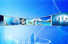 商务科技背景素材图片
