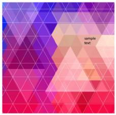 彩色几何背景壁纸