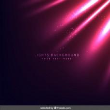 粉红色的灯光背景