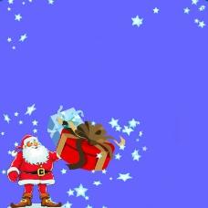 卡通版圣诞老人
