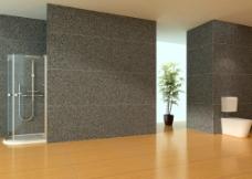 现代家装浴室设计图片