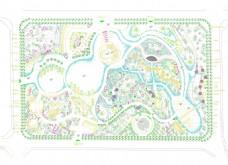 超精细中国风公园景观设计