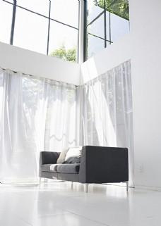 阳光明媚的客厅