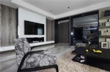 简约欧式设计客厅效果图