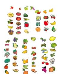 矢量水果素材图片