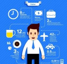 商务 数据矢量图片