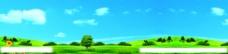 山地风景广告背景图片