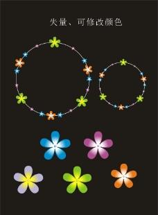 花、花环图片