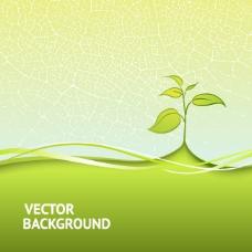绿色环保背景素材图片