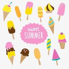 夏日美味冰淇淋