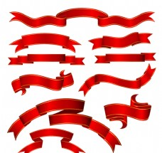 红丝带banner素材