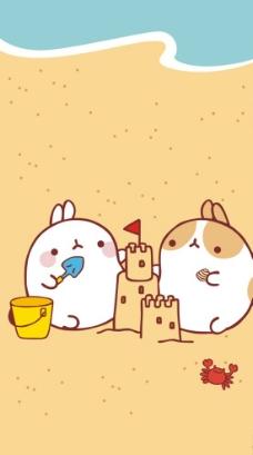 山水简笔画图片_其他_动漫卡通