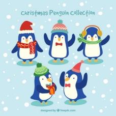 圣诞企鹅收集