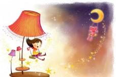 快乐儿童 卡通漫画 韩式风格 分层 PSD_0002