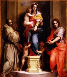 圣母子图片