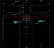 墙横剖节点图CAD图纸