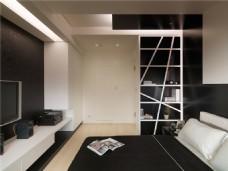 质朴现代设计卧室效果图