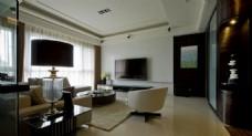 精致创意设计客厅效果图