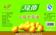 大豆油 标签图片