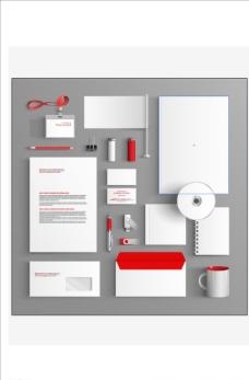视觉手册模板图片