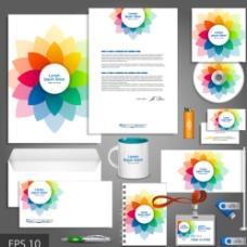 彩色VI设计图片
