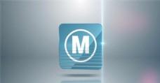 螺旋翻转Logo演绎动画AE模板