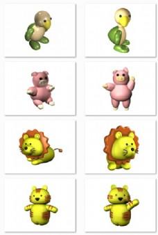 动物玩偶玩具模型