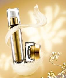 化妆品招贴广告设计psd素材