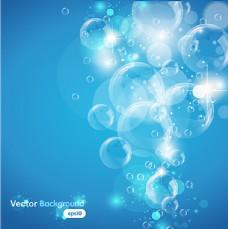 透明气泡背景图片